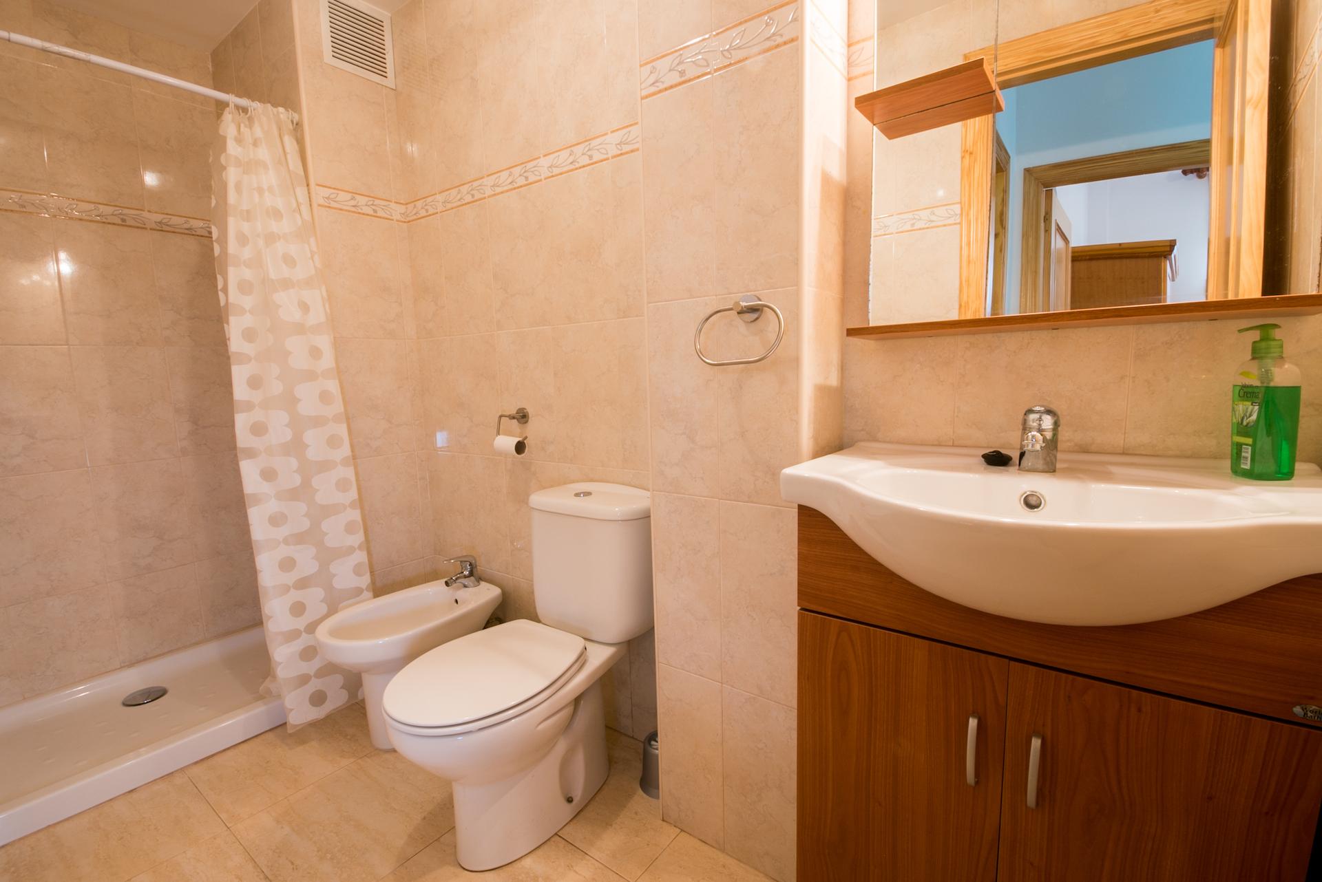 Apartamento Benafer 1 - Baño