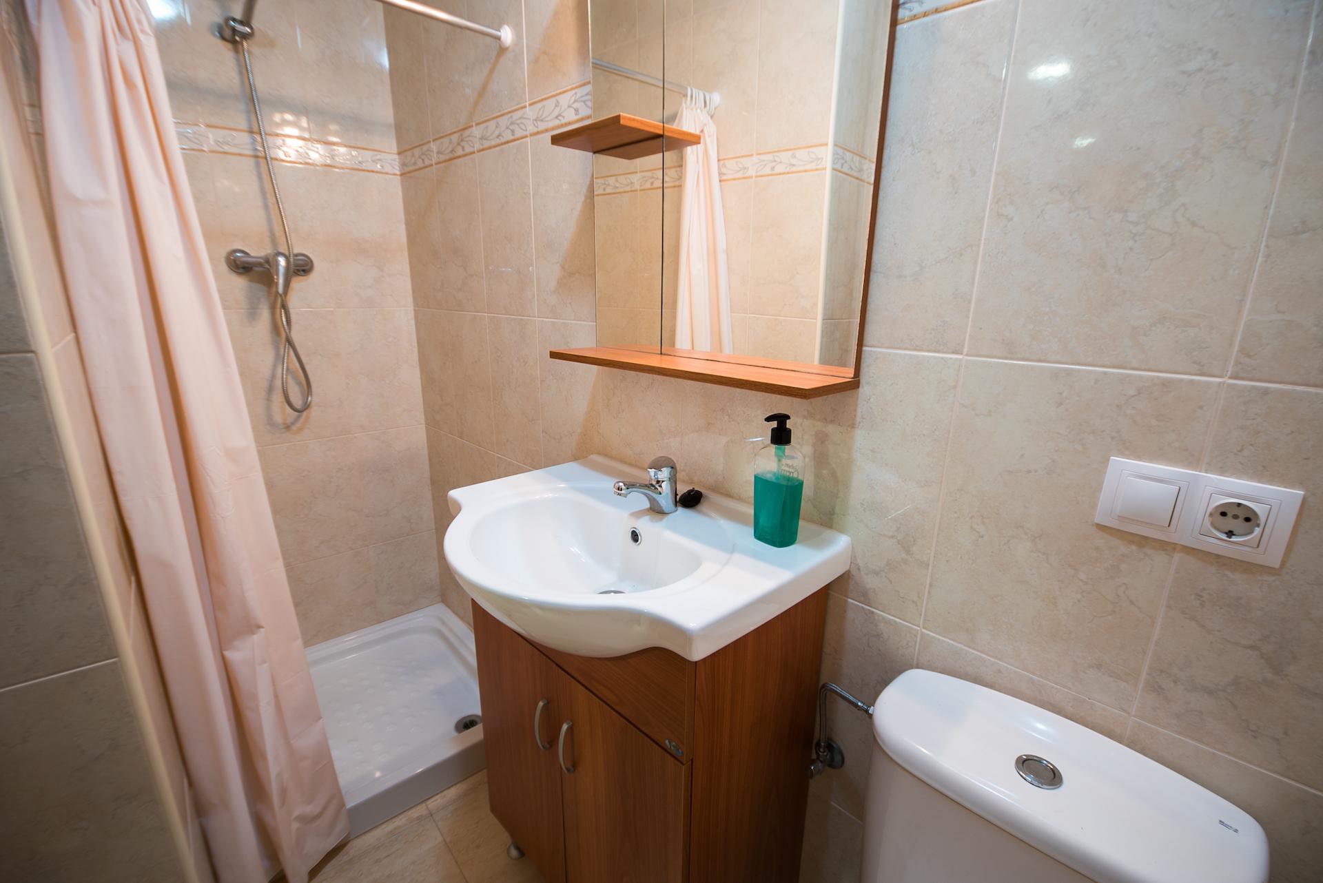 Apartamento Benafer Loft - Baño