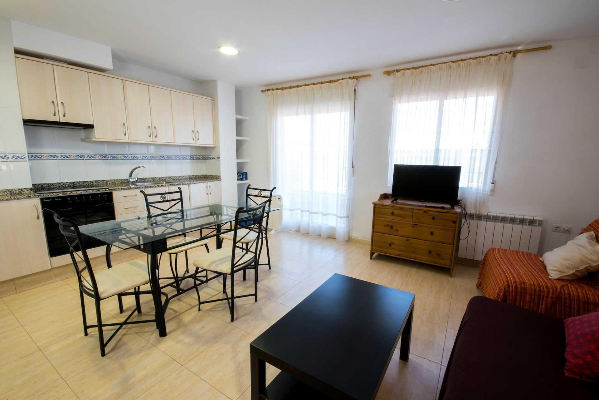 Apartamento Benafer Loft - Cocina-Salón