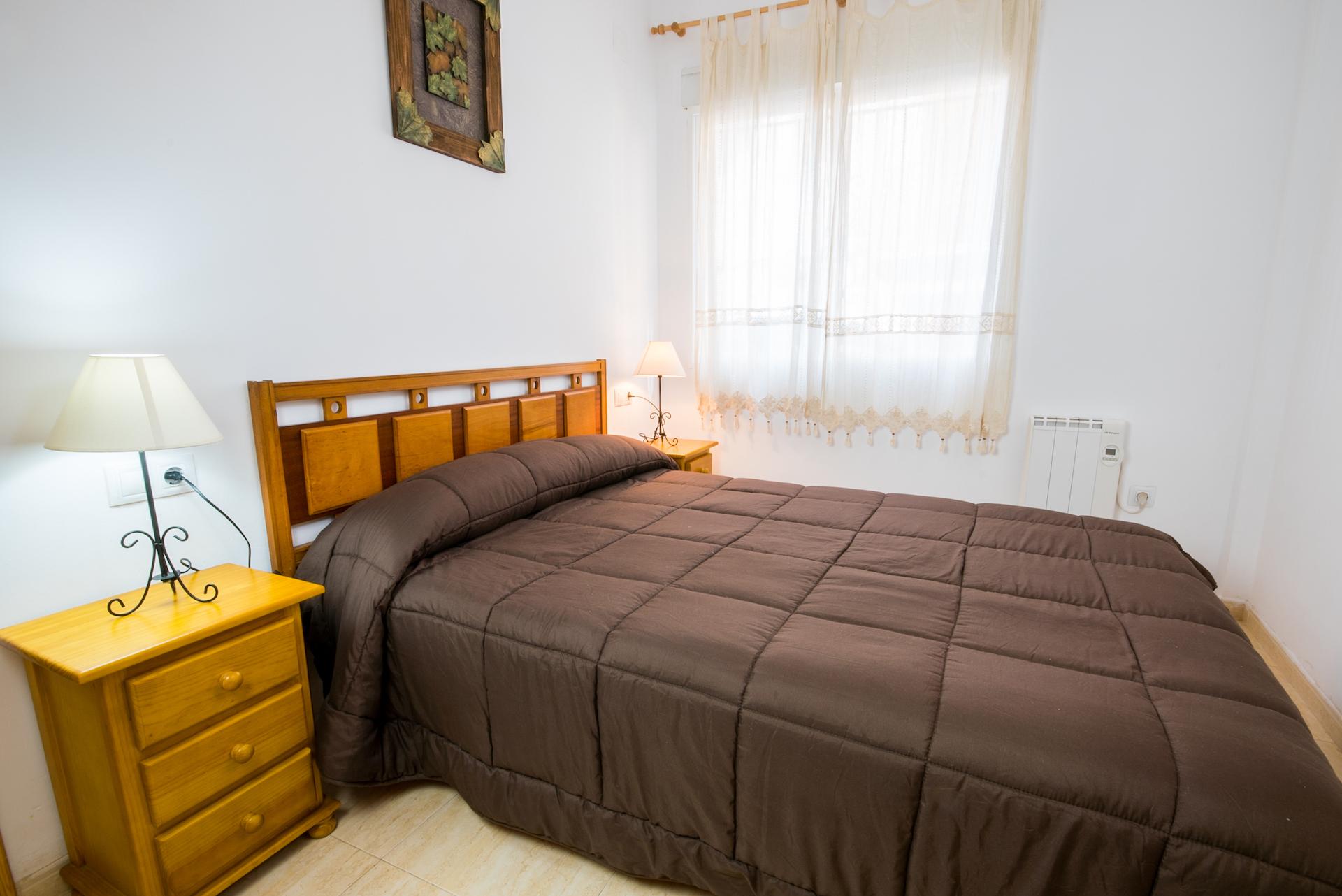 Apartamento Benafer Planta Baja - Habitación Matrimonio