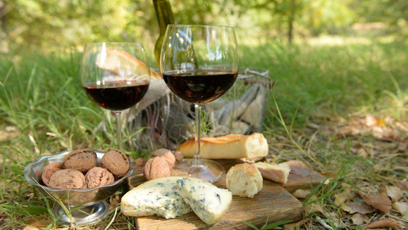 Almuerzo entre viñas